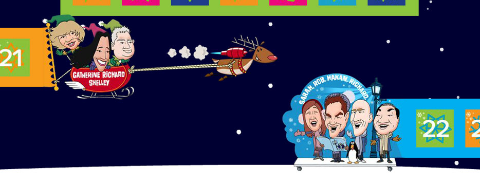 Flash Advent Calendar for Barclaycard