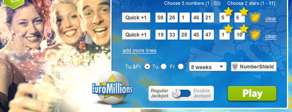 Euromillions Lottery Banner